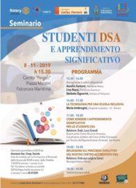 """8 Novembre 2019 Seminario """"Centro Pergoli"""" Falconara M.ma  SCUOLA: L'inclusione al centro della didattica"""